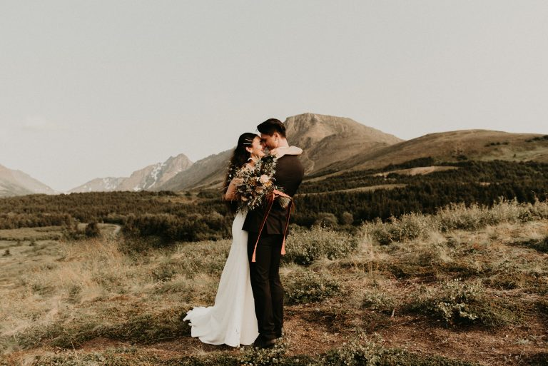 Anchorage Alaska Elopement Photography